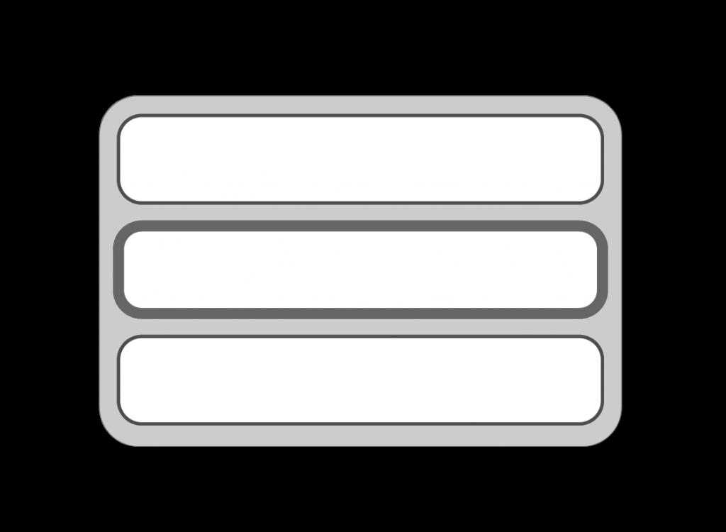Icon zeigt die drei Lagen der Multidorma Naturmatratze