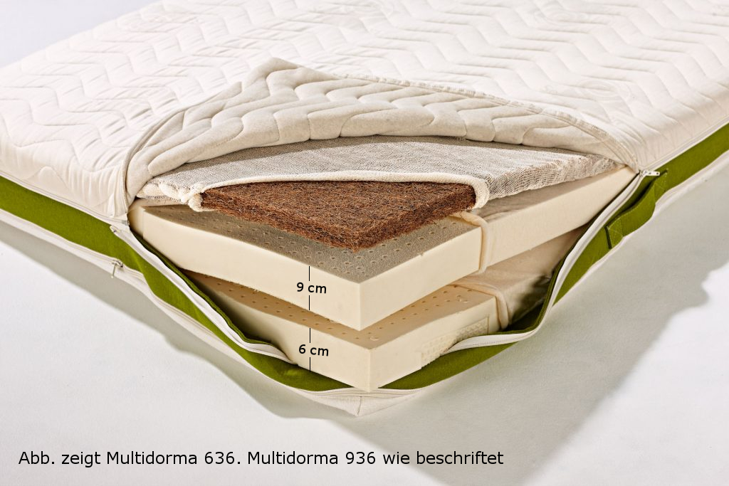Multidorma Naturmatratze 936 Konfiguration fest